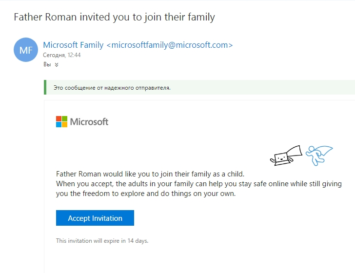 parental control windows 10