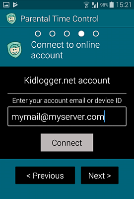 How to install Parental time control for Android