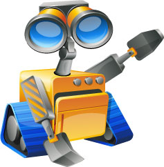KidLogger robot logo user activity monitor for Windows, Mac and Android